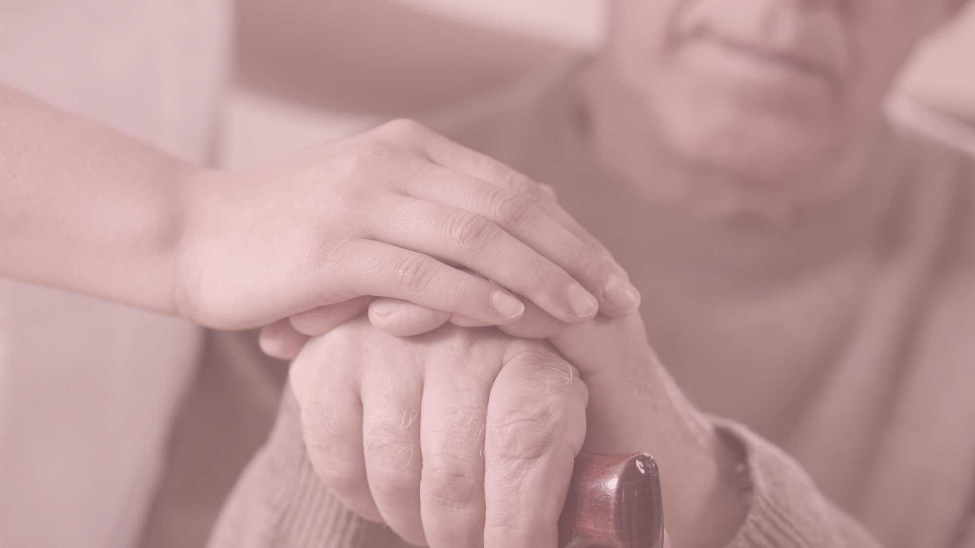 Foto ved begravelse, mindebog, minder, demens