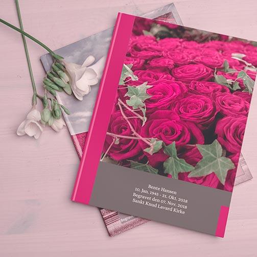 Foto ved begravelse, mindebog, minder, børn og sorg, demens, din sorg